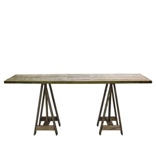 Timber Trestle Table 160x50x70