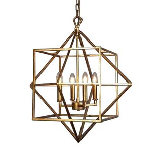 Mosman Ceiling Light in Gold
