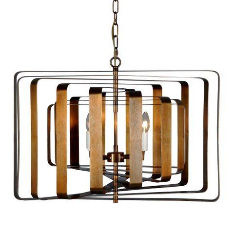 Bronte Ceiling Pendant Brass