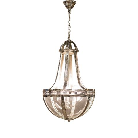 Doma Hanging Lamp Medium in Nickel