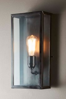 Goodman Lantern Wall Lamp in Black