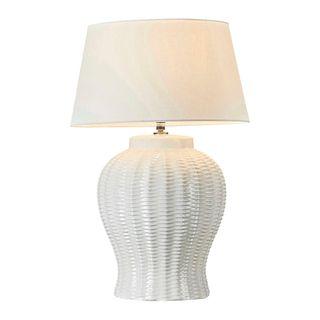 Drawbridge Ceramic Table Lamp Base White