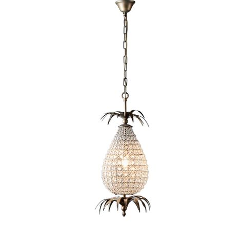 Picasso Hanging Lamp in Brass