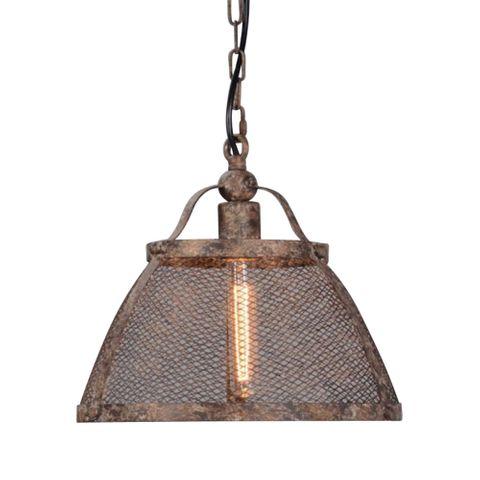 Lorenzo Large Hanging Lamp in Rustic