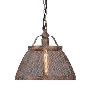 Lorenzo Large Hanging Lamp in Rustic