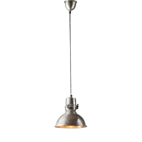 Augusta Medium Hanging Lamp in Silver
