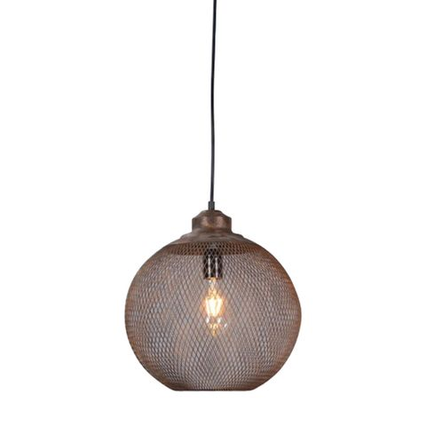 Carlo Medium Hanging Lamp in Rustic