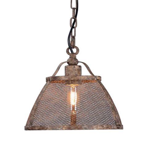Lorenzo Medium Hanging Lamp in Rustic