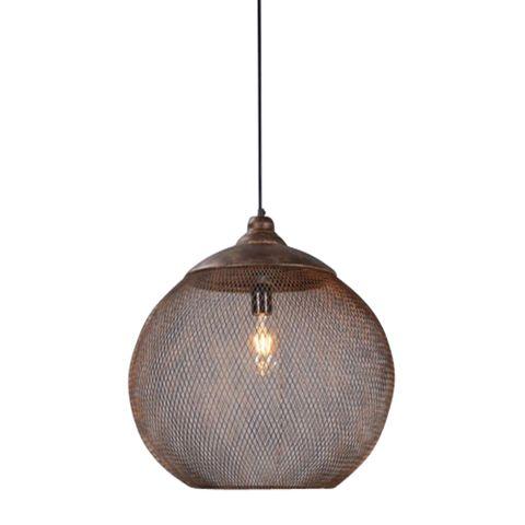 Carlo Large Hanging Lamp in Rustic