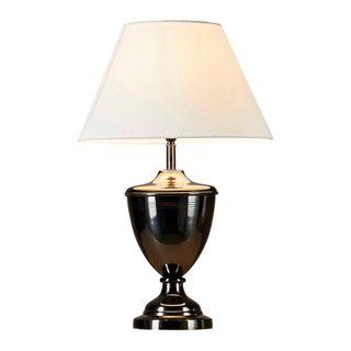 Euston - Black - Brass Urn Table Lamp Base Only