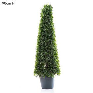 Boxwood Mini Topiary 90cm - Green