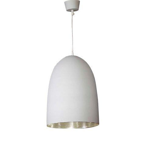 Washington Hanging Lamp White Silver