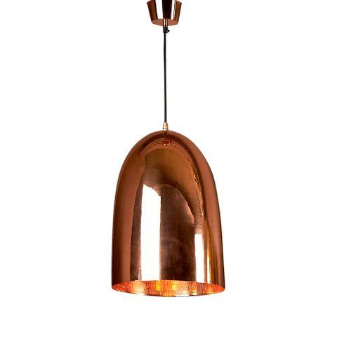 Washington Hanging Lamp Metallic/Copper