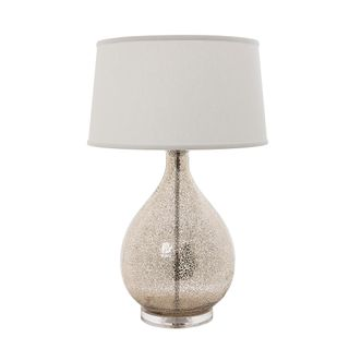 Brompton table lamp with off white shade