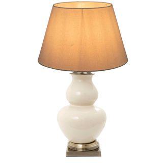 Matisse Ceramic Table Lamp Base Cream
