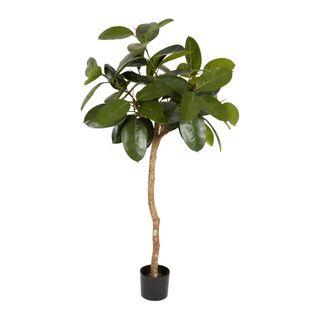 1.2m Rubber Plant Tree w/72 Lvs