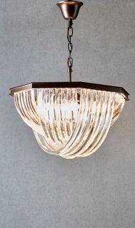 Aberdeen glass hanging lamp