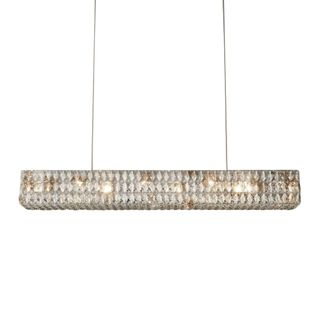 Euston Rect Chandelier Length 83cm