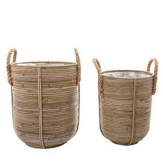 Playa Basket Stripe Set of 2