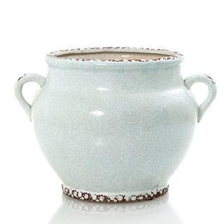 Ice Aqua Pot w Handles