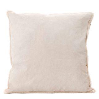 Tibetan Suede Cushion Cream