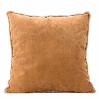 Tibetan Suede Cushion Camel