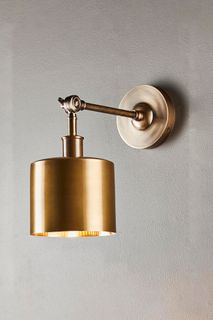 Portofino Wall Light Antique Brass