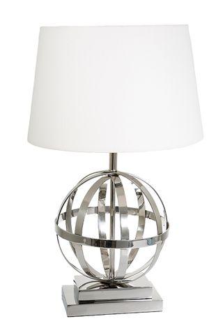 Da Vinci Table Lamp Base Shiny Nickel
