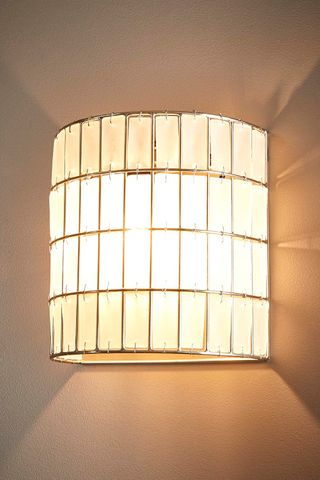 Grahamstown Half Round Wall Lamp