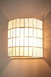 Grahamstown Half Round Wall Lamp