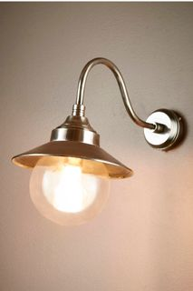 Zermatt Wall Lamp in Antique Silver