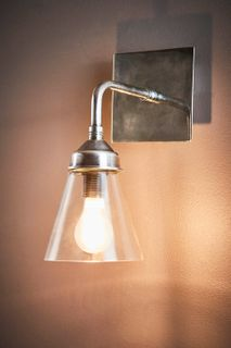 Basel Wall Lamp in Silver