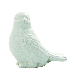 Large Garden Bird Aqua Blue