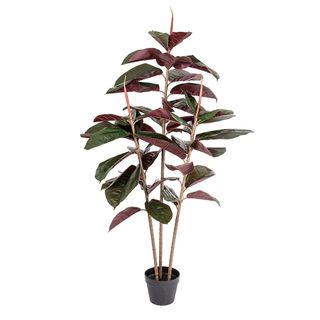 Rubber Tree Real Touch 45 Lvs 1.45m