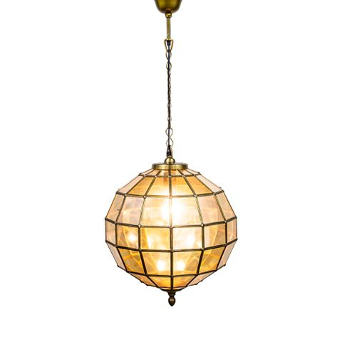 Prince Albert Medium Hanging Lamp Brass
