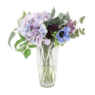Hydrangea Mix Bouquet in Vase