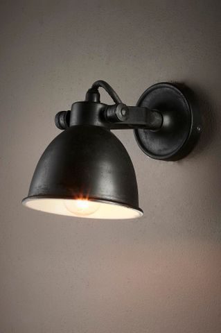 Phoenix Wall Lamp Black