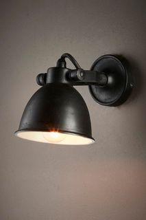 Phoenix Wall Light Black