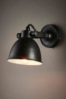 Phoenix Wall Lamp Black