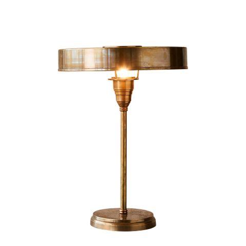 Bankstown Large - Antique Brass - Large Brass Art Deco Table Lamp
