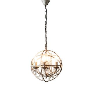 Sundance Chandelier Small in Grey Iron