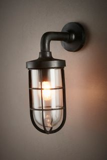 Submarine Wall Sconce Black