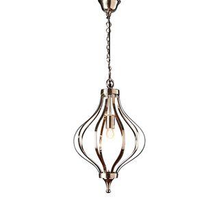 Wategos hanging lamp in nickel