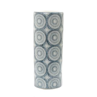 Joss Vase Large Blue and White