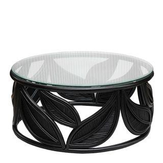 Seville Leaf Table Black