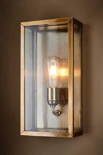 Goodman Outdoor Wall Light Ant Brass