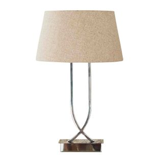 Southern Cross Table Lamp Shiny Nickel