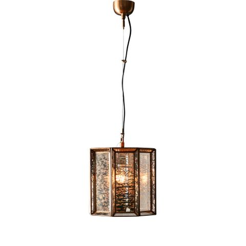 Orion glass hanging lamp