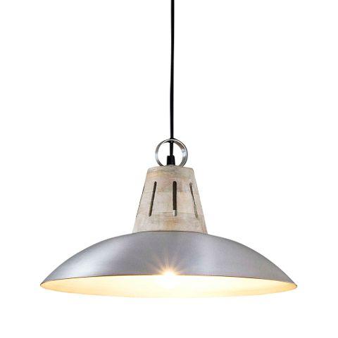 Capri Hanging Lamp in Silver