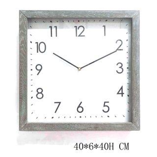 Admiral Table Square Clock Lge 40cm